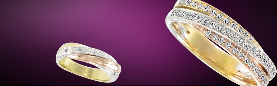 Diamant trois ors